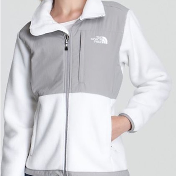 ebda82e9b Women's white Denali north face jacket